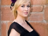 fascinator with coque feathers and couture purple dupion silk rose